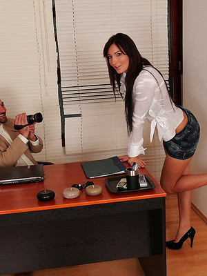 Office sex pictures. Sexy secretaries porn pics.