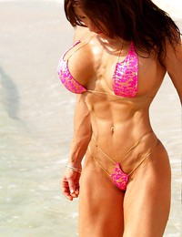 Bodybuilder woman..