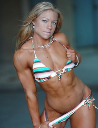 Women with muscles.