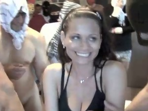 Gangbang porn pictures. Girl drilled by huge cocks.