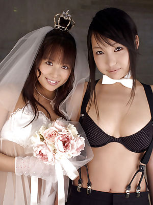 Guys fuck horny brides after wedding or even during the ceremony. Sexy brides like to fuck.