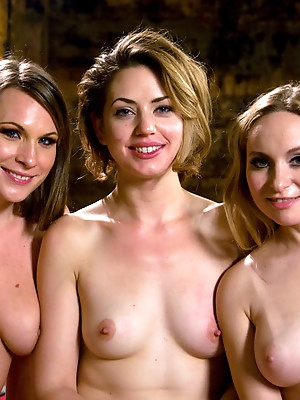 Harmony Rose, Aiden Starr <br> breaking in the new girl