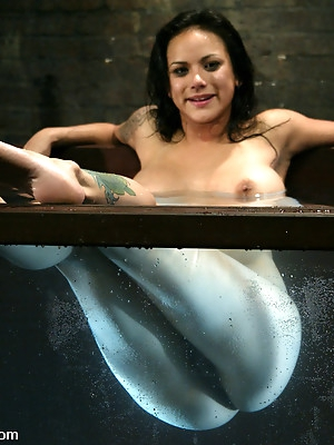 Nadia Styles is Stylin in Plastic Bondage