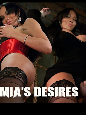 TS Mia Isabella's Desires: Boys, Girls, Bondage, Total Domination and