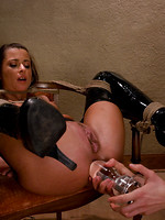 strap bdsm blowjob