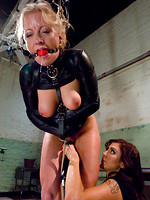 donna bdsm blowjob