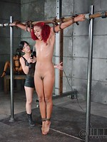 Real Time Bondage outdoor bdsm
