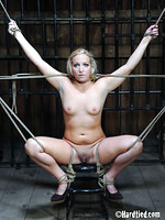 bound outdoor bdsm